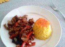 Wieprzowina z ryżem - ugotuj