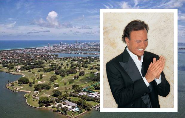 Julio Iglesias sprzedaje swoją działkę w Miami