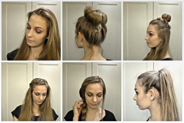 5 szybkich fryzur dla dziewczyn z długimi włosami