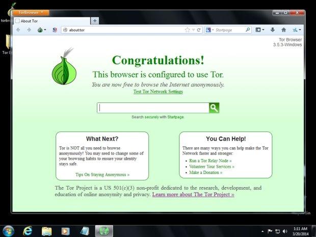 Przeglądarka Tor