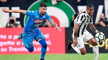 Douglas Costa kontra Elseid Hysaj, Juventus kontra Napoli