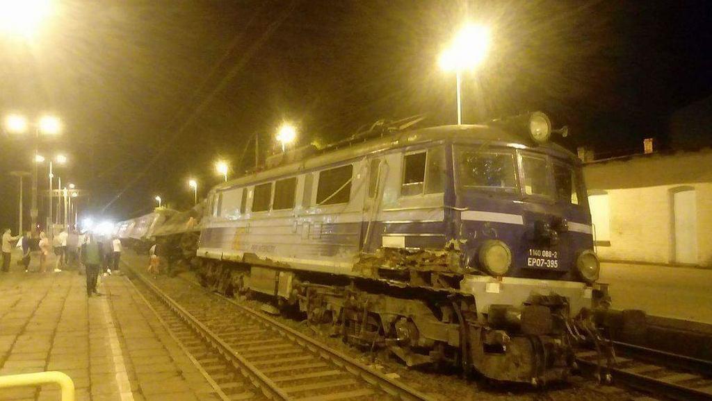 Wypadek kolejowy w Smętowie Granicznym