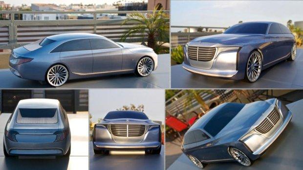 Mercedes U Klasa | Z t�sknoty za Maybachem
