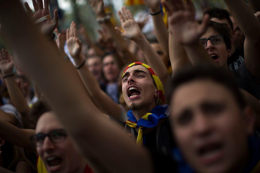 Przed referendum w Katalonii