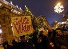 Protesty w Budapeszcie przeciwko Orbanowi
