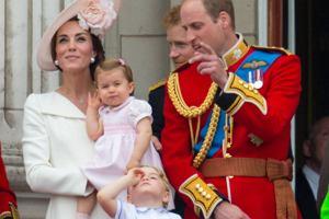 Ksi�na Kate, ksi�niczka Charlotte, ksi��� George, ksi��� William