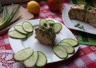 Broku� zapiekany z mi�sem w sosie serowym