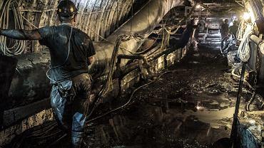Kopalnia Budryk - jedna z najgłębszych w Polsce - 1300 metrów pod ziemią