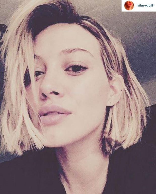 5b853255 Hilary Duff ma nową fryzurę. 'Jest bardzo krótko'. Ale czy lepiej ...
