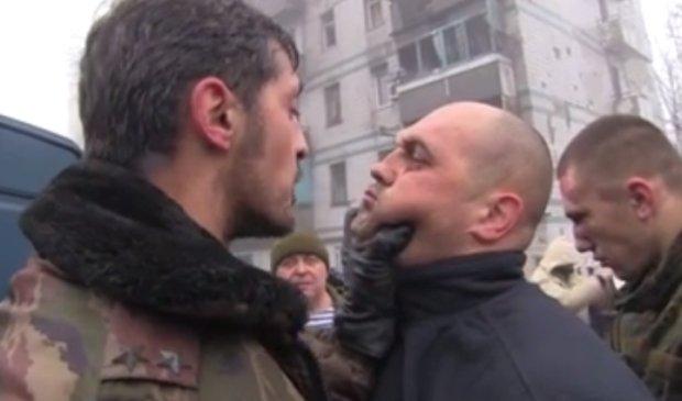Kadr z filmu przedstawiaj�cego sytuacj� na Ukrainie