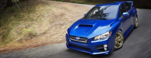 Salon Detroit 2014   Subaru WRX STI