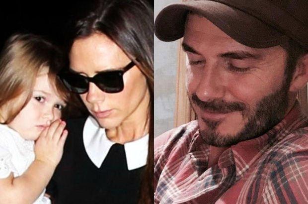 Victoria, David i Harper Beckhamowie