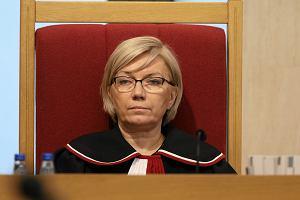 Sąd zawiesił proces. Powód? Przyłębska może nie być prezesem TK. Jest reakcja Trybunału