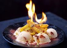 Płonący deser lodowy - ugotuj