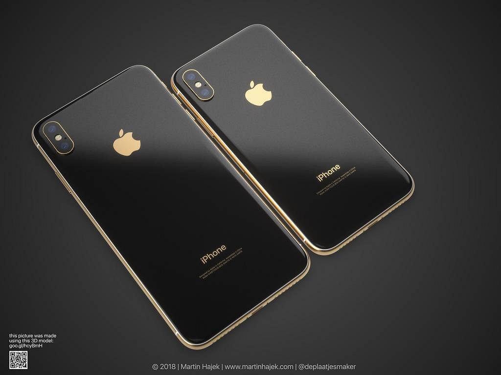 iPhone X - wizualizacja