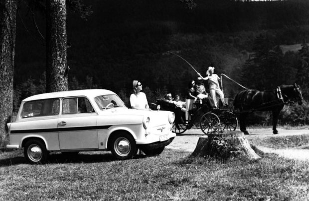 Trabant 600 z 1962
