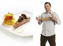 Stek z tu�czyka z risottem i borowikami - ugotuj