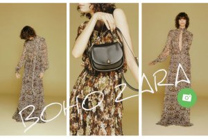 Sezon na boho. Lookbook linii ZARA Woman na jesie� 2015