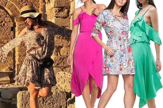 sukienki w stylu Katarzyny Cichopek/mat. partnera/www.instagram.com/katarzynacichopek