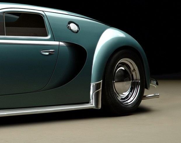 bugatti veyron z 1945 roku zdj cie nr 4. Black Bedroom Furniture Sets. Home Design Ideas