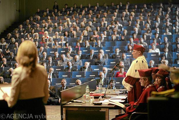 Inauguracja roku akademickiego na Uniwersytecie w Białymstoku, 10 października 2013 r. Studentów filozofii jest coraz mniej. Uczelnia zdecydowała, że tegoroczny nabór na filozofię będzie ostatni