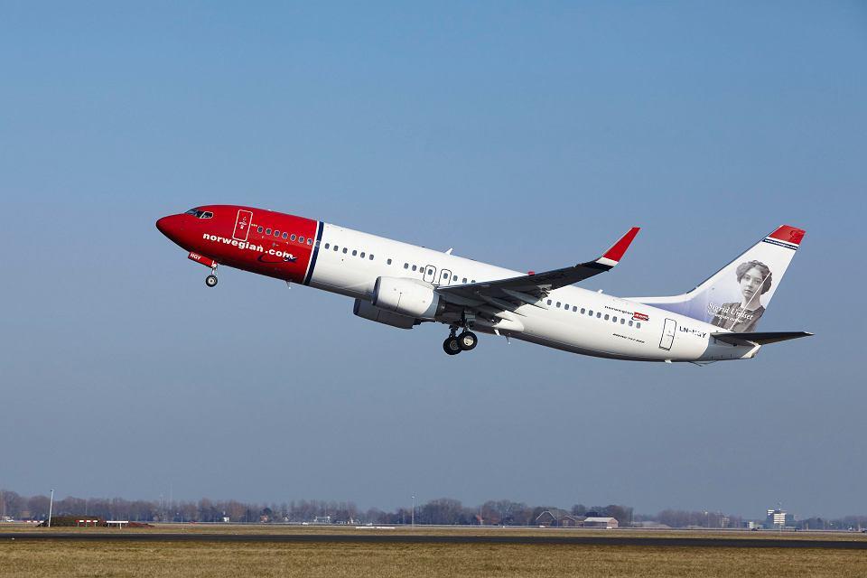 Samolot Norwegian Air