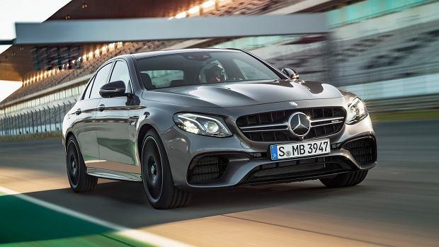 Mercedes-AMG E63 | Jazda bokiem i ponad 600 KM