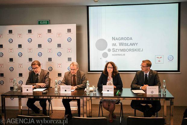 Fundacja Wis�awy Szymborskiej przyzna�a nagrod� literack�