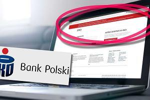 PKO BP ostrzega przed fałszywą stroną. Kto uwierzy, może stracić wszystkie pieniądze z konta