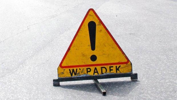 Wypadek na A4. Autostrada by�a zablokowana