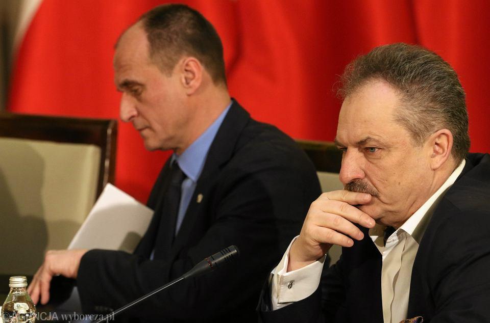 Paweł Kukiz i Marek Jakubiak