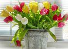 Wazony na wiosenne kwiaty