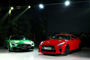 AMG GT R vs. Nissan GT-R | GTR jest tylko jeden. Od teraz są dwa
