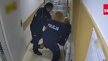 Brutalna interwencja policji na Strzegomskiej