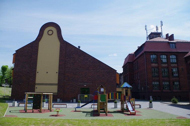 Budowa sali gimnastycznej dla Szkoły Podstawowej nr 14 w Rudzie Śląskiej