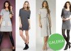 Szare sukienki na jesie� - ponad 110 propozycji