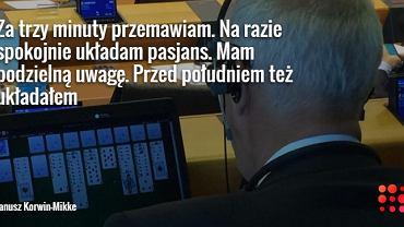 Janusz Korwin-Mikke w Parlamencie Europejskim