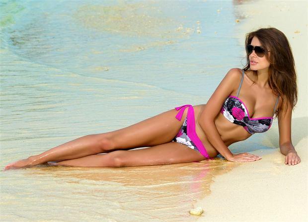 Natalia Siwiec w kampanii kostiumów k�pielowych marki Gabbiano na wiosn� i lato 2013