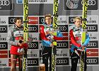 Stefan Kraft goni, Kamil Stoch się broni. Austriak był w Oslo piąty w kwalifikacjach, Polak 11