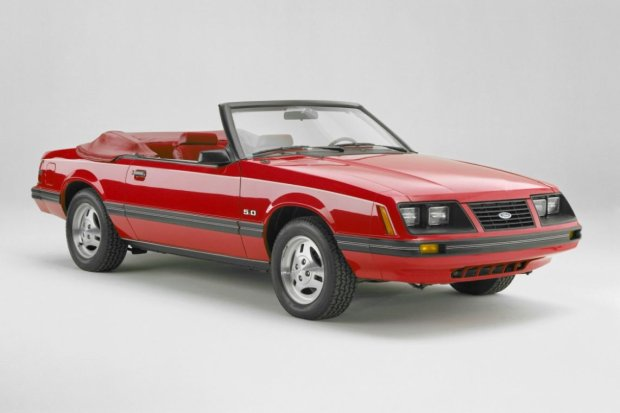1983 Ford Mustang 5.0 Convertible