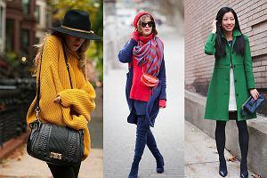 Intensywne kolory, które ożywią zimowe stylizacje