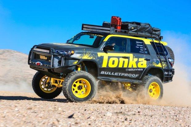 SEMA 2015 | Toyota Tonka 4Runner | Zabawkowa teren�wka