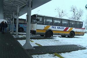 Nożownik zaatakował sprzątającego śnieg. Zabójstwo na dworcu PKS w Kaliszu