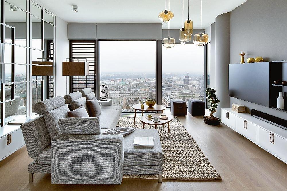 wieżowiec cosmopolitan, wnętrza