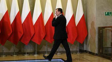 Mariusz Kamiński, oddelegowany w kancelarii premiera na stanowisko koordynatora służb specjalnych w wyniku kontrowersyjnej decyzji premier Szydło. PiS chce kontrolować służby