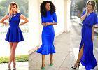 Kobaltowa sukienka w różnych stylizacjach - odkryj jej potencjał