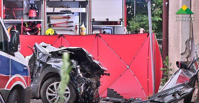 Śmiertelny wypadek w Wojkowicach