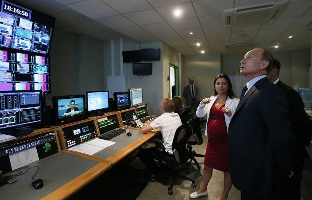 Rosja grozi amerykańskim mediom. Odwet za nakaz dla Russia Today w USA