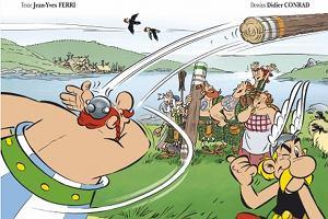 B�dzie kolejny komiks o Asterixie. Narysowali go nowi tw�rcy. Pokazano ju� ok�adk�