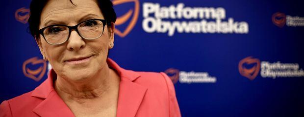 Ewa Kopacz o rozłamie w PO: Nigdzie się nie wybieram. Musimy skonsolidować opozycję [ROZMOWA]